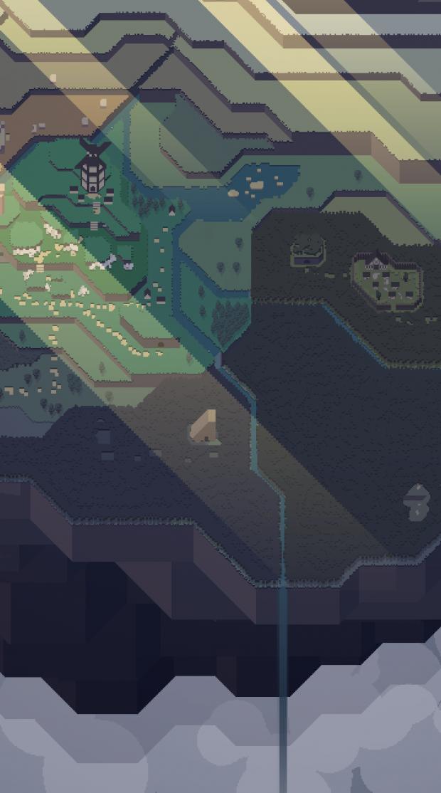 world map cutout