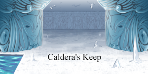 Caldera's Keep Battleback
