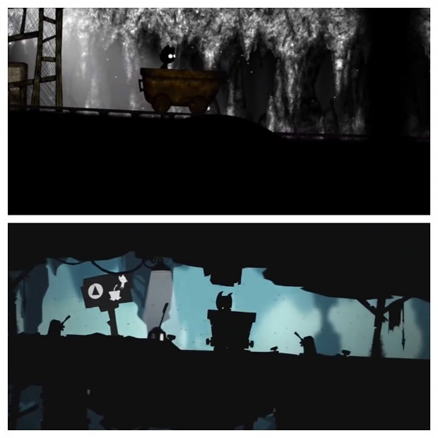 Making of Toby - before and after #2