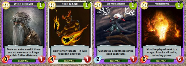The Mage King's Servants