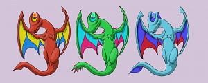 Dragon Trio Artwork