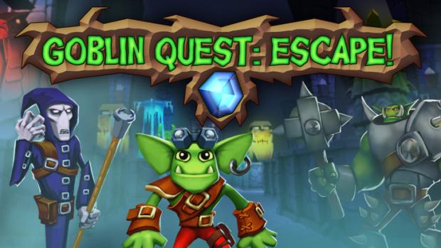 Goblin Quest: Escape! Logo
