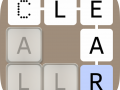 Clear Letters - Word Game Puzzle