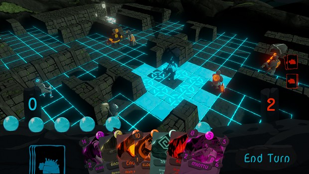 Gameplay from Alpha Version