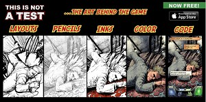 Comic Art To Video Game: Progression 5