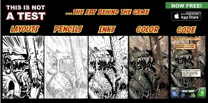 Comic Art To Video Game: Progression 6