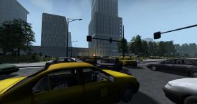Downtown Quarantine city view