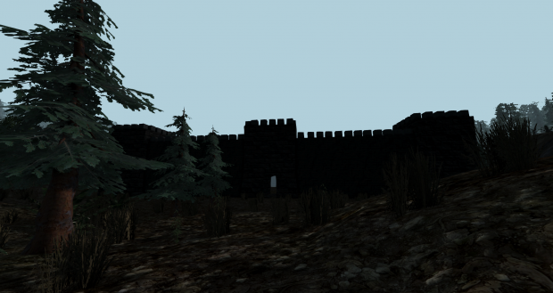 Castle in Cornfield Country