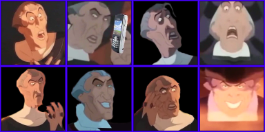 The many faces of Frollo