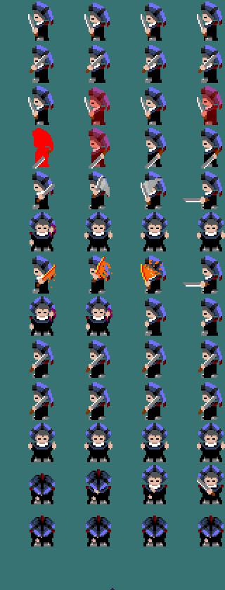 Frollo Battler Sprites