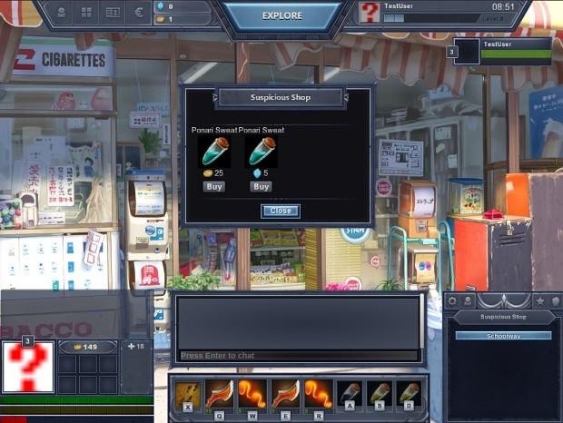 Suspicious Shop