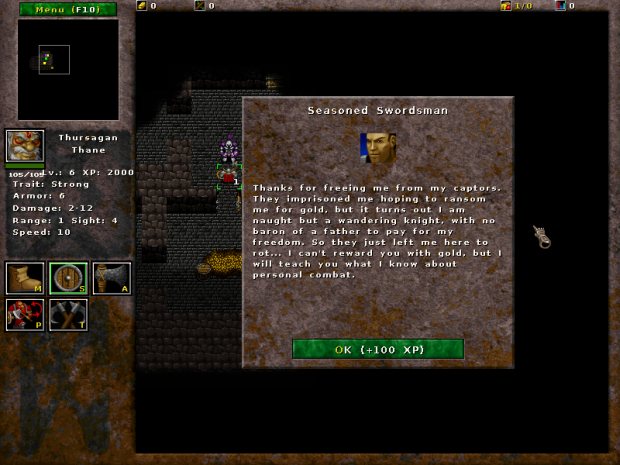 Seasoned Swordsman (Random Dungeon)