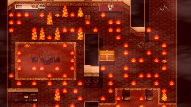 Vidar Screenshot (Burning House)