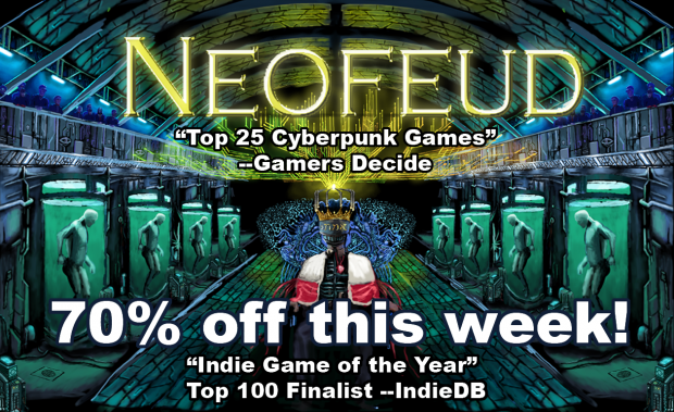 Neofeud 70% off this week