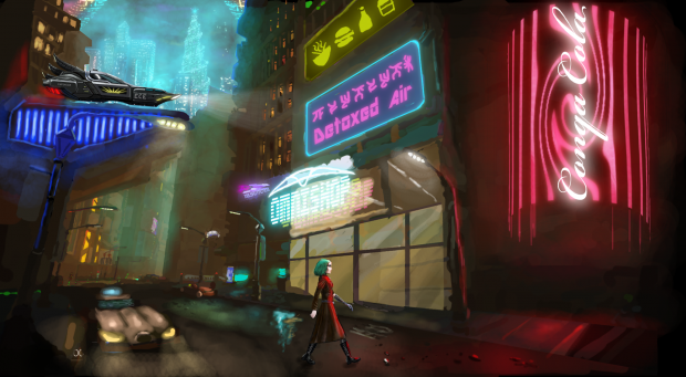 """Neofeud 2 sneak peek """"Cyberpunk Street"""""""
