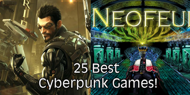 top 25 cyberpunk games
