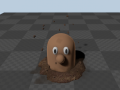 Mud Material in ue4 image - Smack the Mole - Indie DB