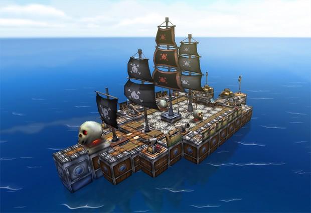 PirateShip - you can manage your ship...