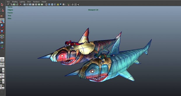 Sharks in progress