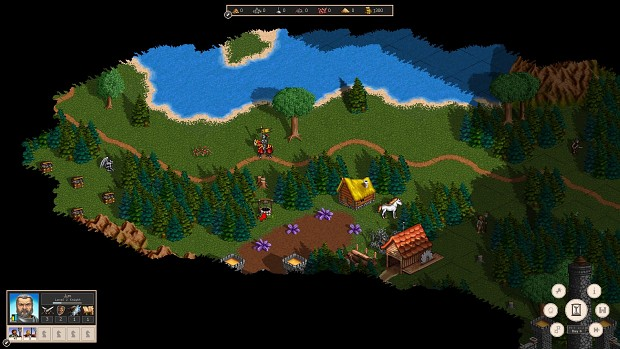In-game screenshot with fog of war