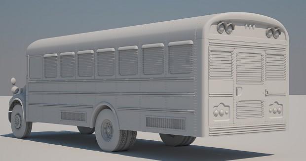 Bus highpoly back wip