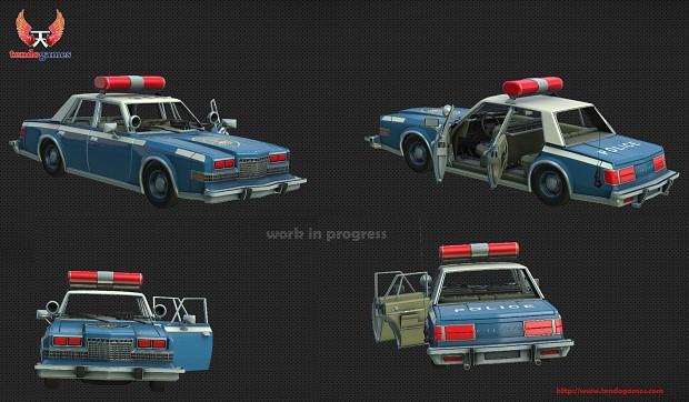 Police car - work in progress