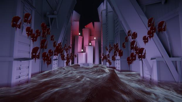 Beneath The Crimson Moon