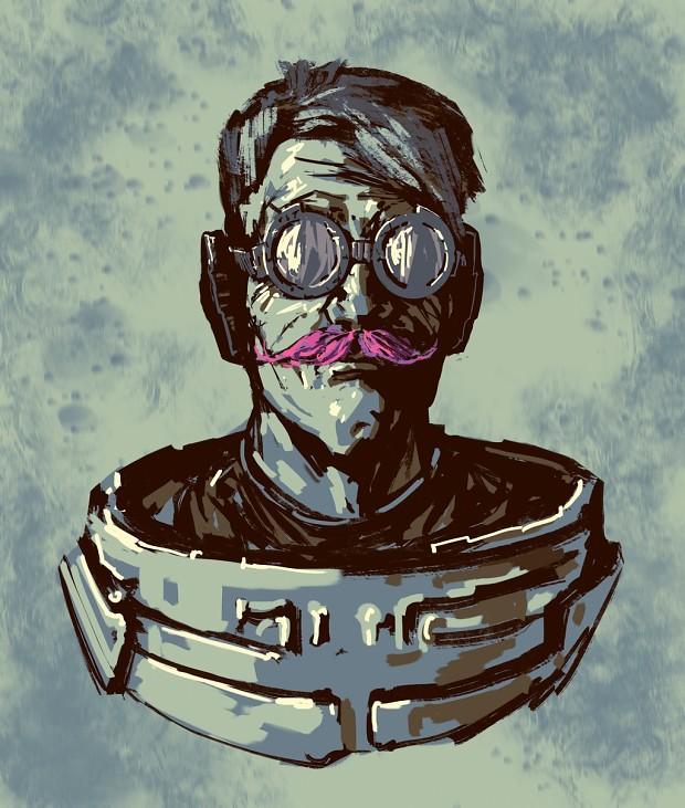 Portrait of a main hero :D