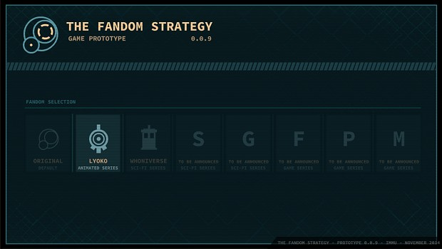 The Fandom Strategy (Prototype) 0.0.9