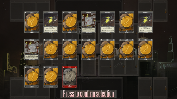 Old selection system