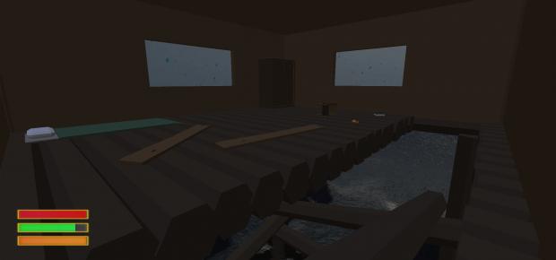 Inside the Stilt House