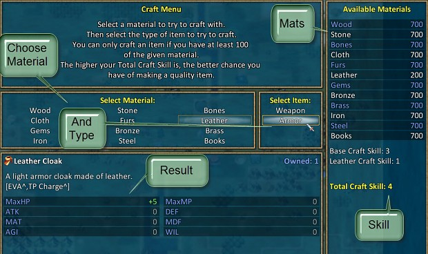 New Crafting Interface1