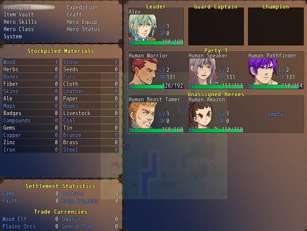 Main Menu screenshot