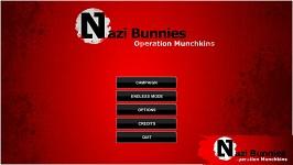 Nazi Bunnies - Start menu
