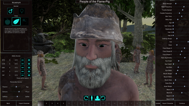 Customise Tribe Screenshots