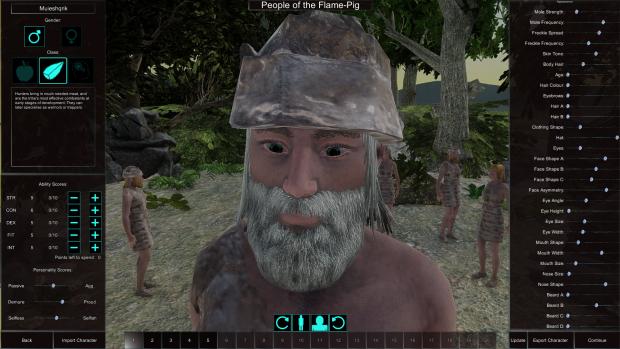 Customise Tribe Screenshots
