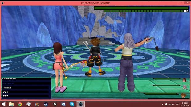Sora,Riku, and Kiari vs. Sephiroth!