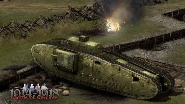 Mk VIII tank