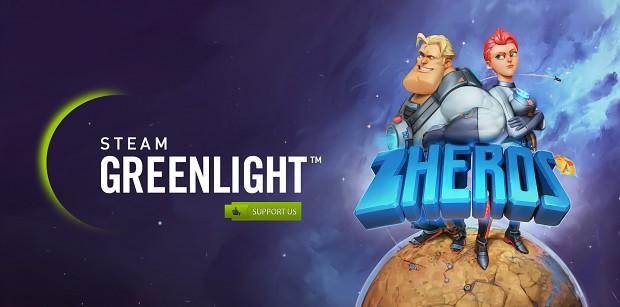 ZHEROS on Steam Greenlight