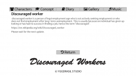 Ingame Concept Archive- Discouraged Worker