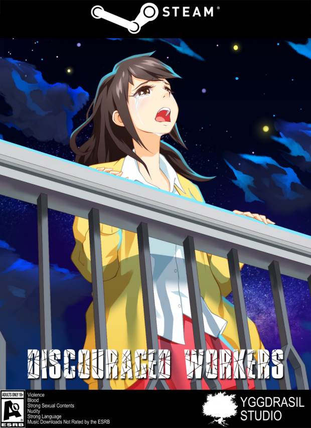 New Discouraged Workers Steam Boxshot.