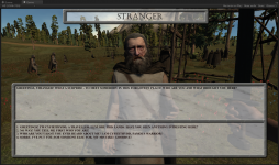 First in-game dialog