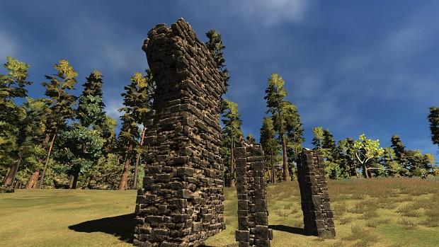 Random ruins first test