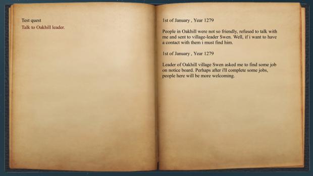 KINGDOMS - journal testing
