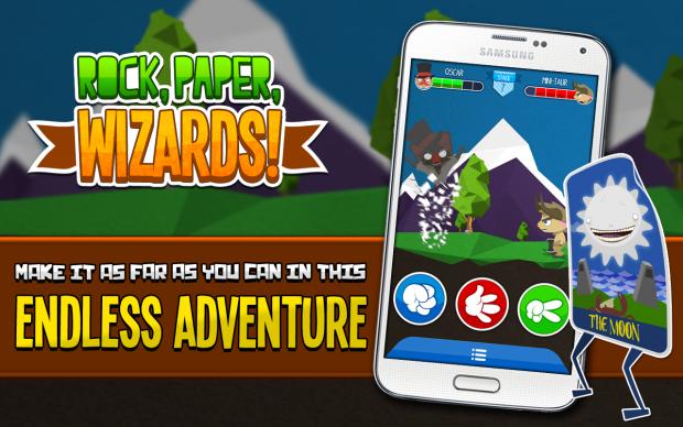 Rock, Paper, Wizards! Screenshots