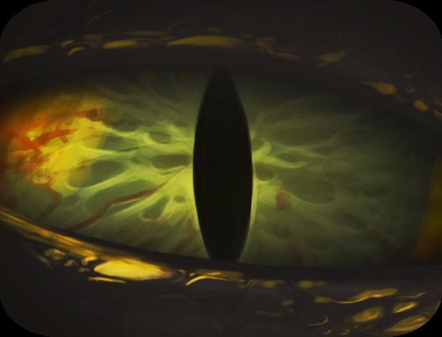The Eye - lair of angry dragon