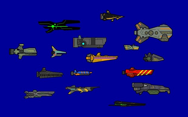 Random Collection of Ships