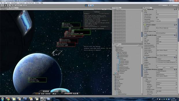 Development Screens