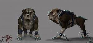 Blood the Bulldog Concept Art