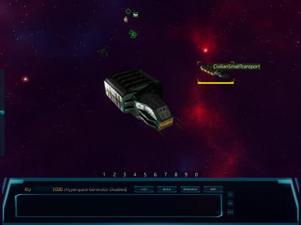 Civilian ships